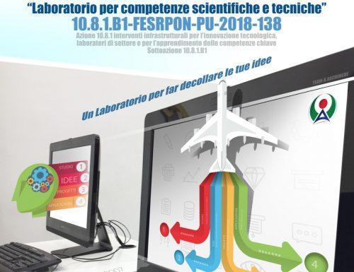 """ARCHIMEDE e il """"Laboratorio per competenze scientifiche e tecniche"""""""