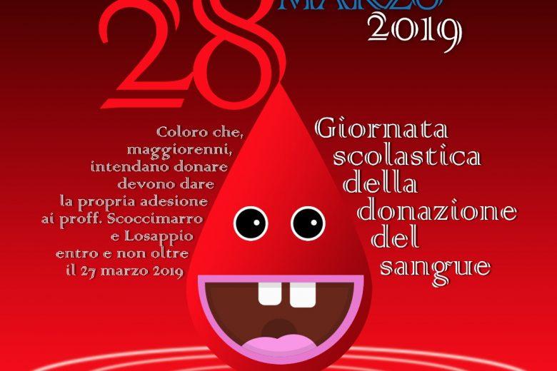 Giornata scolastica della donazione del sangue