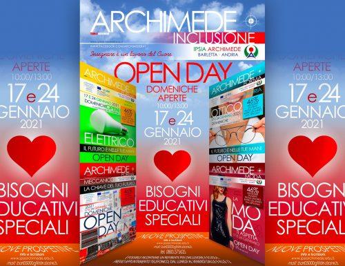 """ARCHIMEDE OPEN DAY """"Domeniche aperte"""""""