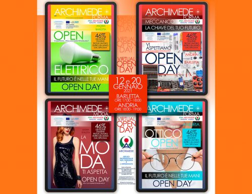 """ARCHIMEDE """"Virtual OPEN DAY"""""""